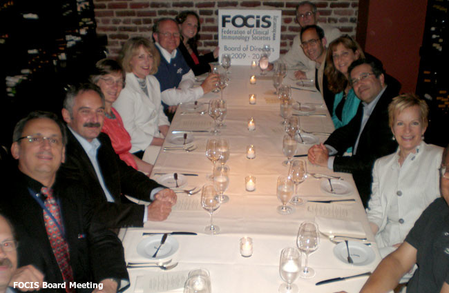 FOCIS board meeting photo.
