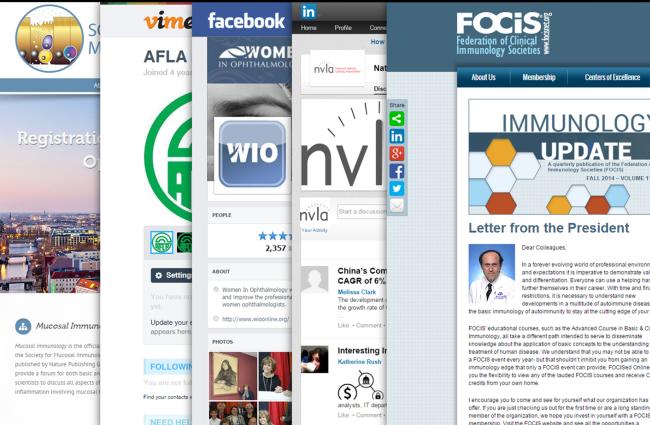 Client technology screenshots.